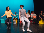 Once on This Island's Hailey Kilgore and Issac Powell always have a blast on stage and off.