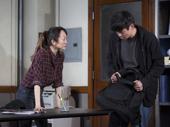 Sue Jean Kim as Gina  and Ki Hong Lee as Dennis in Office Hour.