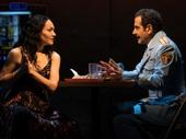 Katrina Lenk as Dina and Tony Shalhoub as Tewfiq in The Band's Visit