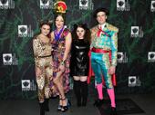 Hello, Dolly!'s Beanie Feldstein, Taylor Trensch, Melanie Moore and Gavin Creel get together.