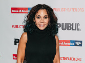 Two-time Tony nominee Daphne Rubin-Vega attends the off-Broadway opening of Illyria.
