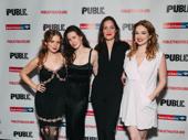 Illyria's Naian Gonzalez Norvind, Emma Duncan, Rosie Benton and Kristen Connelly.