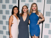 Junk's Teresa Avia Lim, Miriam Silverman and Caroline Hewitt take a girl power pic.
