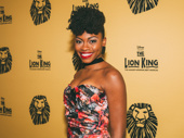 Adrienne Walker, The Lion King's current Nala, stuns for the camera.