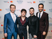 The Band's Visit's Bill Army, Etai Benson, Adam Kantor and Jonathan Raviv