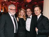 Rich Hebert, Vicki Clark, Brigadoon director Rob Berman and Christopher Wheeldon