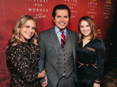 John Leguizamo, his wife Justine Maurer and daughter Allegra Leguizamo
