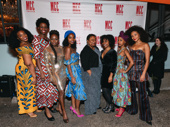 School Girls; Or, The African Mean Girls Play's Abena Mensah-Bonsu, Nike Kadri, Zainab Jah, MaameYaa Boafo, Myra Lucretia Taylor, Paige Gilbert, Mirirai Sithol and Nabiyah Be