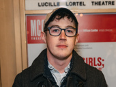 Tony winner Alex Sharp attends the opening night.