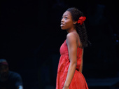 Hailey Kilgore as Ti Moune in Once On This Island.
