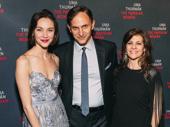 The Parisian Woman understudies Sydney Lemmon, Ron Menzel and Caris Vujcec