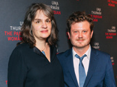 The Parisian Woman director Pam MacKinnon & scribe Beau Willimon