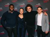 "Hamilton alums Okieriete ""Oak"" Onaodowan, Jasmine Cephas Jones, Andrew Chappelle and Anthony Ramos"