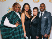 Once On This Island gods Alex Newell, Merle Dandridge, Lea Salonga and Quentin Earl Darrington