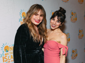 Former Spring Awakening co-stars Kathryn Gallagher and Krysta Rodriguez