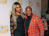 Laverne Cox and Tituss Burgess