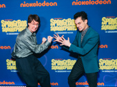 Doug Lawrence, who lends his voice to Plankton in the cartoon SpongeBob SquarePants and Wesley Taylor, who plays the role in the musical