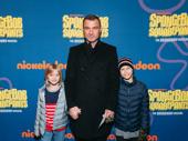 Tony winner Liev Schreiber and his children