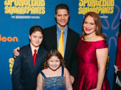 SpongeBob SquarePants' musical orchestrator Tom Kitt, his wife Rita and their adorable children.