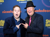 SpongeBob SquarePants' Danny Skinner and Bill Fagerbakke, who lends his voice to Patrick in the animated series.(Photo: Getty Images & Jenny Anderson)