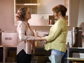 Francesca Annis as Rose and Deborah Findlay as Hazel in The Children.