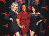 Chicago's Robyn Hurder, LaVon Fisher-Wilson and Donna Marie Asbury strike a pose.