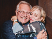 Chicago's Charlotte d'Amboise hugs it out with the revival's director Walter Bobbie.