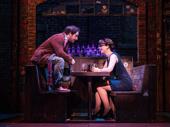 Justin Collette as Dewey and Analisa Leaming as Rosalie in School of Rock.