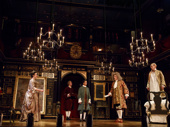 The cast of Farinelli and the King.