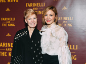Farinelli and the King playwright Claire Van Kampen with daughter Juliet Rylance.