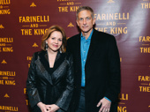 Superstar soprano Renée Fleming and her husband Timothy Jessell step out.