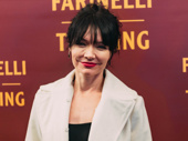 The Band's Visit's Katrina Lenk gets glam for a Broadway opening.