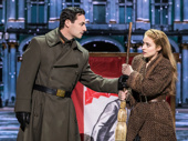 Max von Essen as Gleb and Christy Altomare as Anya in Anastasia.