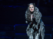 Mamie Parris as Grizabella in Broadway's Cats