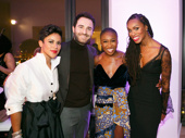 Celebrity event planner Kathy Romero, Philippe Vasilescu of LOUIS XIII, Cynthia Erivo and celebrity lifestyle maven and evening host Latham Thomas exude glamour.