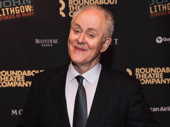 Star John Lithgow hits the red carpet after an amazing opening night performance.