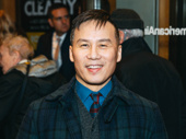 Tony winner B.D. Wong is all smiles as he attends opening night of his M. Butterfly co-star.