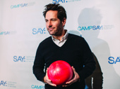 Stage and screen fave Paul Rudd is ready for a night of fun for a great cause.