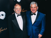 The dream team! The Phantom of the Opera director Harold Prince and producer Cameron Mackintosh reunite.