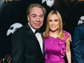 The Phantom of the Opera music man Andrew Lloyd Webber celebrates with daughter and journalist Imogen Lloyd Webber.