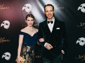 The Phantom of the Opera's Laird Mackintosh and guest join the party.