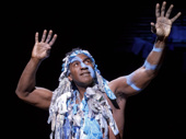 Norm Lewis as Agwe in Once On This Island.