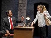 Stephen Park as Li-Wei Chen and Anna Chlumsky as Lydia Lensky in Cardinal.