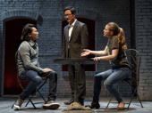 Eugene Young as Jason Chen, Stephen Park as Li-Wei Chen and Anna Chlumsky as Lydia Lensky in Cardinal.