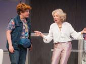 Klea Blackhurst as Bernie and Hayley Mills as Carmel in Party Face.