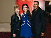 Hey, Look Me Over!'s Eloise Kropp, Kerry Conte and Jaquez André Sims snap a sweet pic.