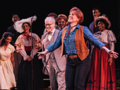 Carolee Carmello takes her closing performance curtain call in Hey, Look Me Over!