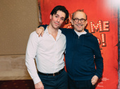 "Broadway legend Joel Grey surprised the audience with a performance of ""Give My Regards to Broadway"" with Clyde Alves."