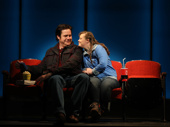 Josh McDermitt as Bobby and Jamie Brewer as Amy in Amy and the Orphans.