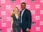 Mean Girls' Kerry Butler and Rick Younger snap a pic.